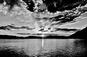 Sandpoint Prints - This Is Idaho Black And White Print by Benjamin Yeager