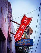 Austin Artist Photos - This is It Neon Sign by Sonja Quintero