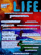 Word Paintings - This is Your Life by Patti Schermerhorn