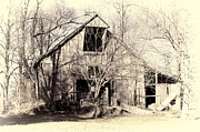 Englewood Framed Prints - This Old Barn Framed Print by Cricket Hackmann