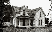 Old House Drawings - This Old House by Cory Still