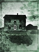 Old House Photo Metal Prints - This Old House Metal Print by Jeff Klingler