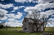 Weathered Houses Prints - This Old House Print by Jim McCain