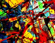 Abstract Expressionism Paintings - This Painting Has A Life Of Its Own VI by John  Nolan