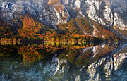Lake Bohinj Framed Prints - This way Framed Print by Graham Hawcroft pixsellpix