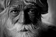Pallab Banerjee Art - Tho old man by Pallab Banerjee