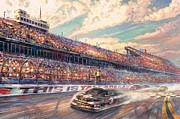 Kinkade Prints - thomas kinkade-This is Talladega Print by Thomas kinkade Collector