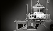 Annapolis Md Prints - Thomas Point Shoal Lightroom Print by Skip Willits
