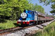 Storybook Photo Prints - Thomas Visits The CVNP Print by Dale Kincaid