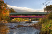 New Hampshire - Thompson Covered Bridge 2 by Joann Vitali