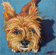 Animal Portrait Paintings - Thompson by Patricia A Griffin