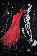 Thor Prints - Thor Print by Joseph Everson