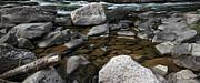 Those Rocks Print by Leigh Geithman