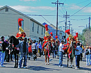 Thoth Photos - Thoth Parade Begins by Lizi Beard-Ward