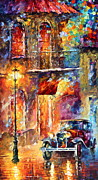 Old Town Painting Prints - Thoughts of My ancestors  Print by Leonid Afremov