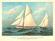 Thrash To Windward 1893 Print by Padre Art