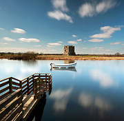 Grant Glendinning Framed Prints - Threave  Castle Framed Print by Grant Glendinning