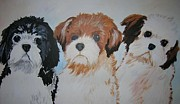 Puppies Originals - Three Amigos by Veronica Silliman