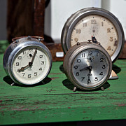 Mechanism Photos - Three Clocks by Art Block Collections