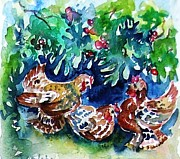 Trudi Doyle - Three French Hens