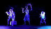 Haunted Mansion Digital Art - Three Hitchhiking Ghosts by Jennifer Hotai