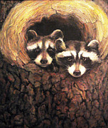Donna Tucker Art - Three is a Crowd by Donna Tucker