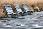 Lounge Chair Framed Prints - Three Framed Print by JC Findley