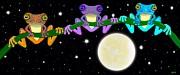 Nick Gustafson - Three little frogs in the moonlight