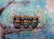 Karin Taylor - Three Little Night Owls
