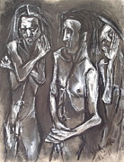 Kenneth Agnello - Three Men Standing
