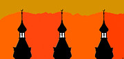 Pop Icon Posters - Three Minarets Poster by David Lee Thompson