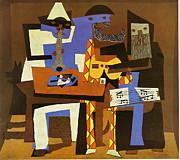 Picasso Pablo Pablo Picasso - Three Musicians