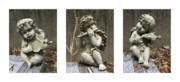 Eternity Photos - Three Musicians Triptych  by Peter Piatt