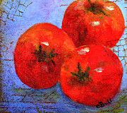 Claire Bull - Three Red Tomatoes