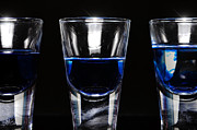 Illustration Photo Originals - Three shot glasses by Tommy Hammarsten