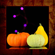 Abundance Posters - Three small pumpkins Poster by Tommy Hammarsten