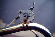 Bicycle Photos - Three Speed Bicycle by Tanya Harrison