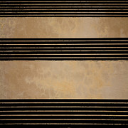 Abstract Earth Tones Posters - Three Steps Poster by Bob Orsillo