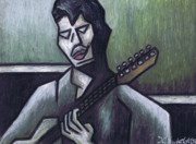 Guitar Pastels - Thrill Is Gone by Kamil Swiatek