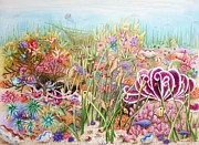 Clown Fish Originals - Thriving Ocean  by Katherine Young-Beck