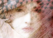 Hidden Face Digital Art - Through a butterfly wing by Gun Legler
