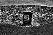 Stone Dwelling Framed Prints - Through An Ancient Doorway  Framed Print by Aidan Moran