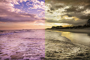 Topsail Island Prints - Through Different Eyes Print by Betsy A Cutler East Coast Barrier Islands