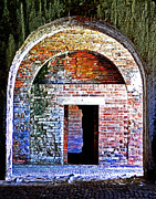 Photo-realism Photos - Through the Archway by David Wetzel
