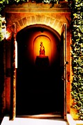 Nombre Prints - Through the Chapel Doors Print by Brian Druggan