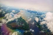 Jenny Rainbow - Through the Clouds. Rainbow Earth