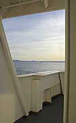 Passenger Ferry Prints - Through the Doorway Print by Marilyn Wilson
