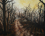 Monica Veraguth Art - Through the Forest by Monica Veraguth