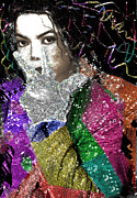 King Of Pop Digital Art - Through The Glove by Karine Percheron-Daniels