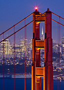San Francisco California Photos - Through the Letterbox by Alexis Birkill
